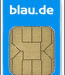 Simkarte blau.de