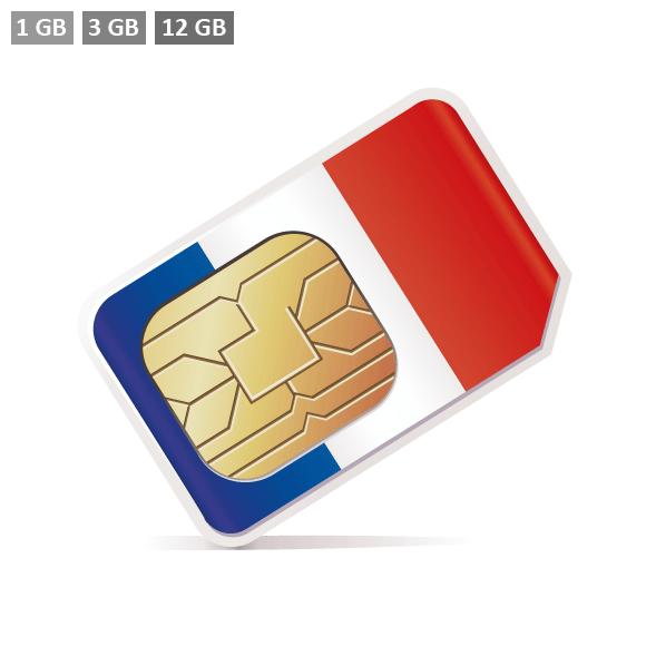 Frankreich SIM-Karte kaufen