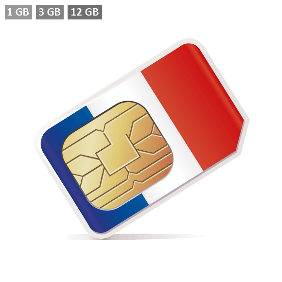 Frankreich Prepaid SIM-Karte