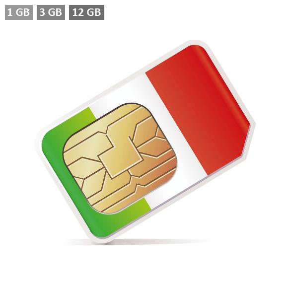Italien Prepaid SIM-Karte
