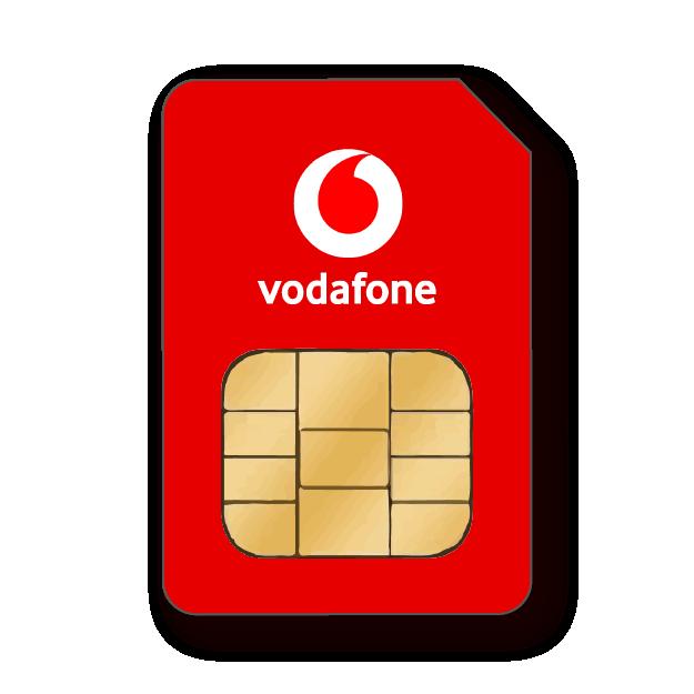 Vodafone SIM-Karte