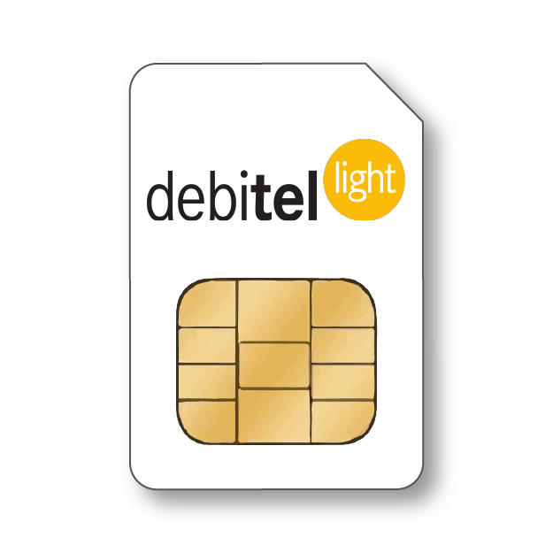Debitel light SIM Karte